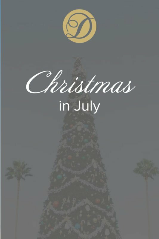 Christmas in July Duvall Events