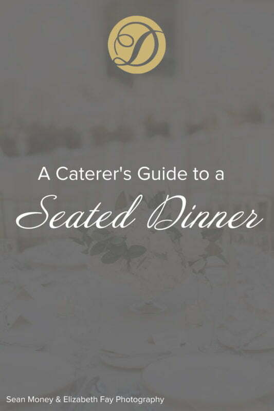 Duvall's Guide to a Seated Dinner