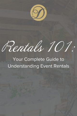 Duvall Catering & Events rentals 101 event rentals