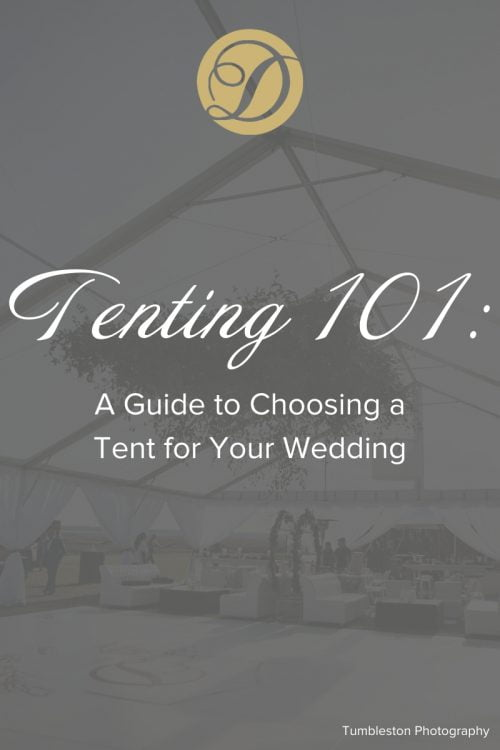 Duvall Catering & Event Tenting Your Wedding